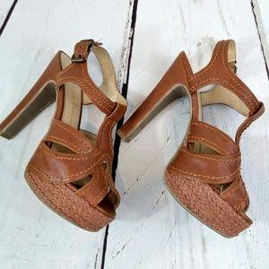 Lauren Conrad heel platform sandals
